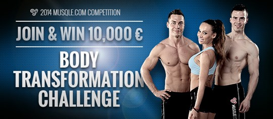 Musqle.com 2014 Body Transformation Challenge