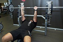 Close-Grip Barbell Bench Press #2