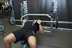 Close-Grip Barbell Bench Press #1