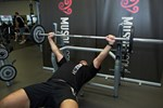 Wide-Grip Barbell Bench Press