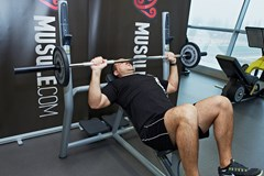 Barbell Incline Bench Press #1
