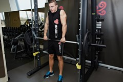 Smith Machine Shrug #2