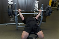 Barbell Bench Press (Powerlifting Version) #2