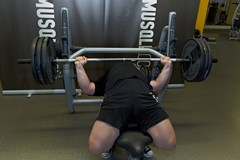 Barbell Bench Press (Powerlifting Version) #1