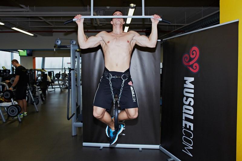 Vægtet armbøjninger - Musqle-4155