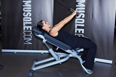 Cable Incline Triceps Extension #2