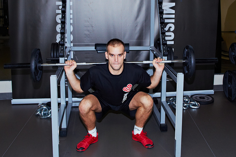 Barbell Full Squat - MUSQLE